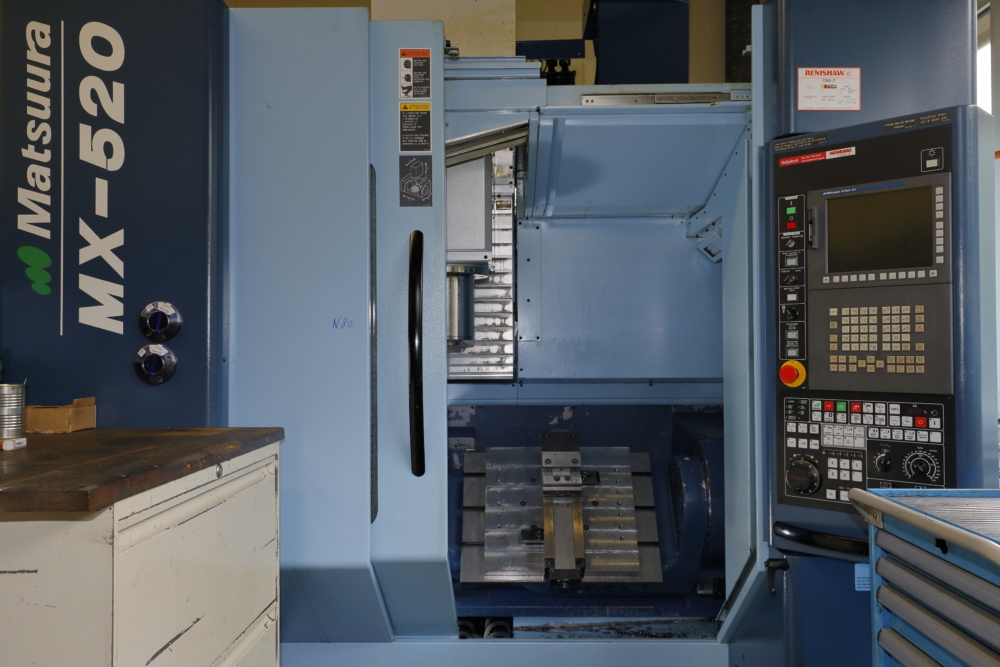 Centre usinage CNC 5 axes Matsuura MX520